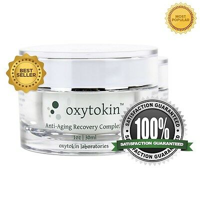 OXYTOKIN 2 Jars - Anti-Wrinkle Anti-Aging Cream w/Peptides 30g