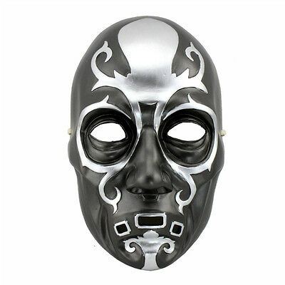 T23 Replica Harry Potter Death Eater Mask Resin hand made High Quality Resin BLK