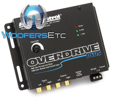 OVERDRIVE PLUS GRAY AUDIO CONTROL PRE AMP LINE DRIVER 24 db GAIN 13 VOLTS NEW