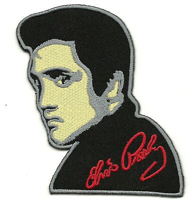 Patch Ecusson ELVIS PRESLEY  The King Of Rock'n'Roll Rockabilly SUN Records 60's