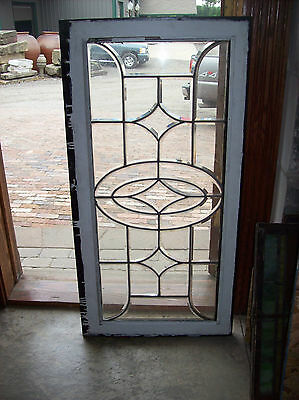 Simple thick glass beveled window (SG 1279)