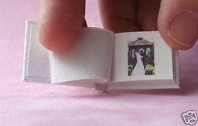 Dollshouse Miniature Book - Wedding Photograph Album
