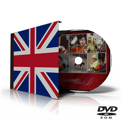 GREAT BRITAIN STAMP ALBUM PAGES DVD 1840-2011 (343 PDF color illustrated pages)