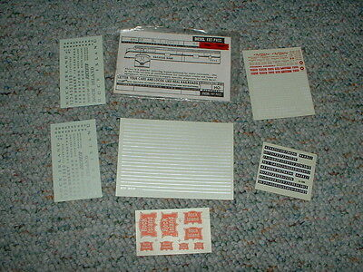 WALTHERS HO SCALE DECAL ROCK ISLAND ITEM #934-4493 CRI/&P CAB DIESELS