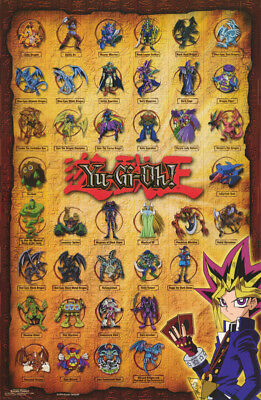 POSTER : Anime Manga  :YU-GI-OH - GROUP COLLAGE - FREE SHIPPING   #720     RW9 V