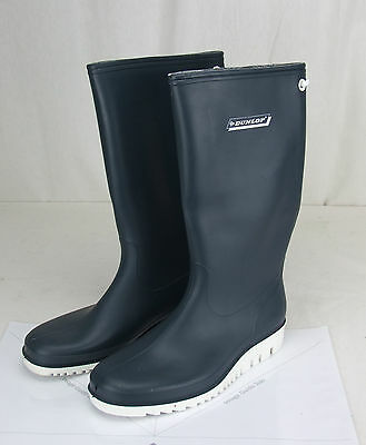 Neoprene Seaboots Dunlop Brand size 6 Gum Boots Sailing / Boat  Deck Boots