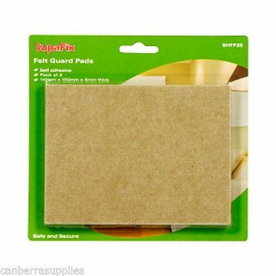 Laminate Wood Floor Furniture Felt Guard Pads Protector Pack Of 2