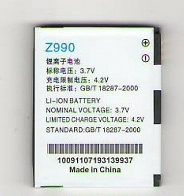 Lot Of 5 New Battery For Zte Z990 Avail Att N760 Roamer