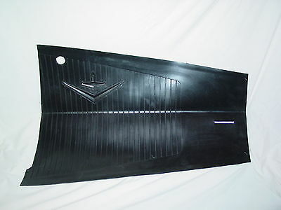 1956 1957 Lincoln Black Rubber Large Heel Pad (By-5713086-A)