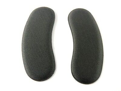 1 Pair Extra Sticky Fabric Shoe Heel Inserts Insoles Pads Cushion Grips Strong