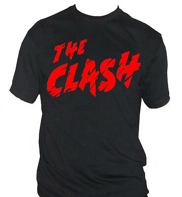 fm10 t-shirt uomo THE CLASH Strummer Jones Simonon MUSICA