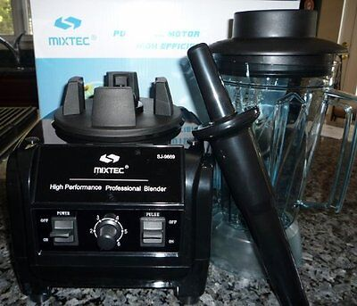 3HP MIXTEC Heavy Duty Powerful Commercial Blender Up to Speed 38,000 rpm 64 Oz