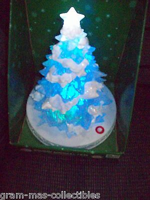 "HOLIDAY MUSICAL TREE PLAY 8 DIFFERENT HOLIDAY SONGS 8"" HIGH X 11"" WIDE NEW"