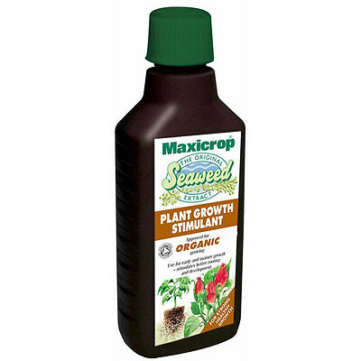 MAXICROP PLANT GROWTH STIMULANT - ORIGINAL ORGANIC SEAWEED EXTRACT - 1000ml / 1L