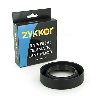 Zykkor 49mm Telematic Wide / Zoom / Standard Rubber Lens Hood, NEW, in USA