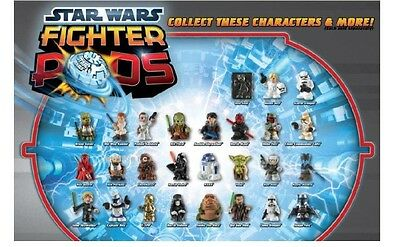 Star Wars Fighter Pods Choose Your Own Figure Series 1 Free Postage