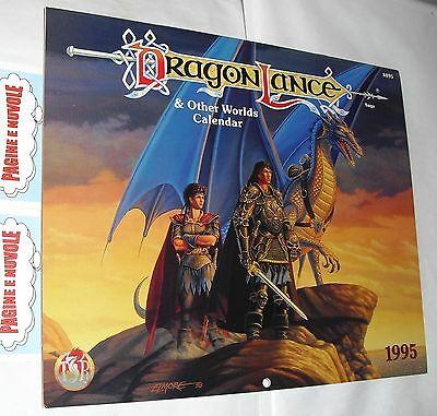 DRAGON LANCE & other worlds calendar 1995 - calendario in inglese