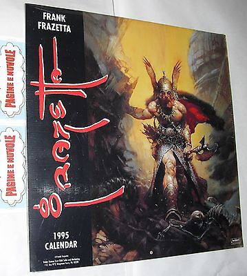 frank frazetta - FRAZETTA - guerrieri vichinghi - 1995 - calendario in inglese
