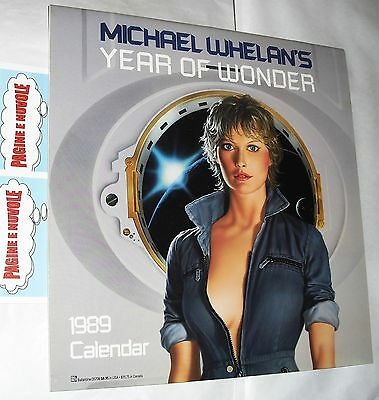 michael whelan's - YEAR OF WONDER calendar 1989 - calendario in inglese