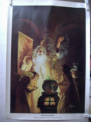 Rowena Morrill: Alchemy and Academe Print (signed/numbered) (USA)