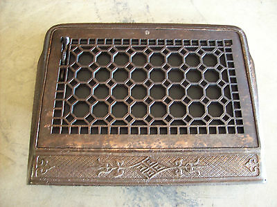 Honey Comb Heating grate wall mount framed (G 443)