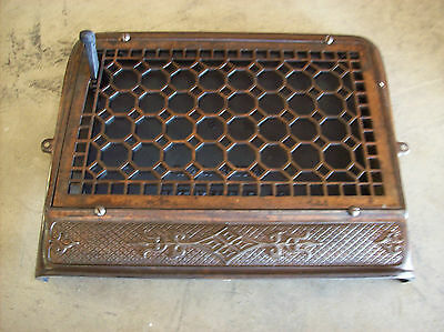 Single Wall Mount Honey Comb Pattern Heating grate (G 444)
