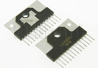 LA4485 Original Pulled Sanyo 5 W, Two-channel Power Amplifier Integrated Circuit