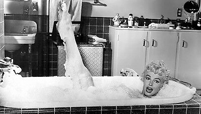 MARILYN MONROE  IN BATHTUB with LEGS UP  (1) RARE 8x10 GalleryQuality PHOTO