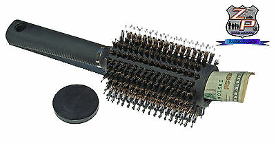 """Real """"Hair Brush"""" Diversion Safe Hide Jewelry Money Papers Spy Home Travel   New"""