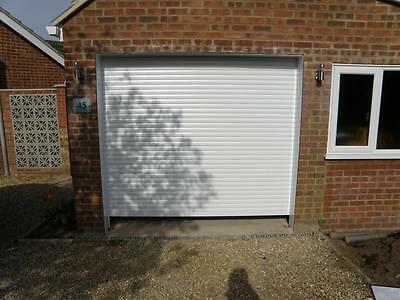Made to Measure Electric Remote Control Roller Garage Door with fixings included