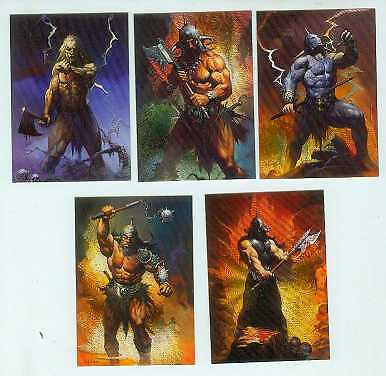 Ken Kelly Collection 2 Metallic Storm Subset (USA)