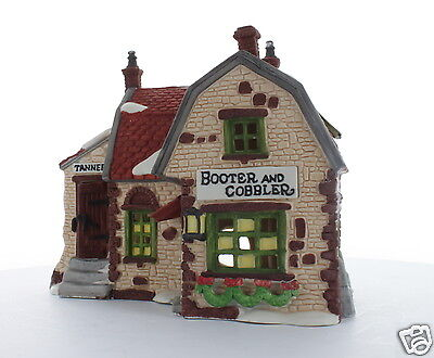 Department 56 Dickens' Village Collectible Booter and Cobbler 1988 #59242
