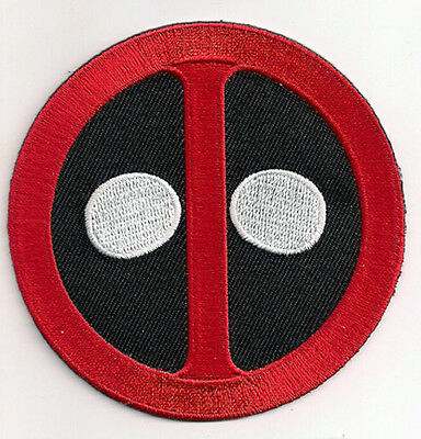 "Deadpool  Logo 3.5"" Embroidered Patch- Dead Pool Marvel Comics (DPPA01)"