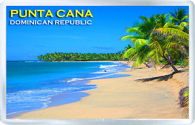 Punta Cana Dominican Republic Fridge Magnet Souvenir Imán Nevera