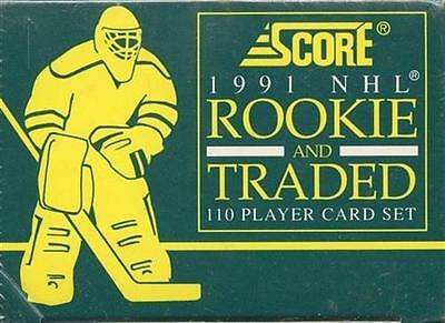 16 Count Lot 1991-92 Score Hockey Rookie & Traded Sealed Factory Set