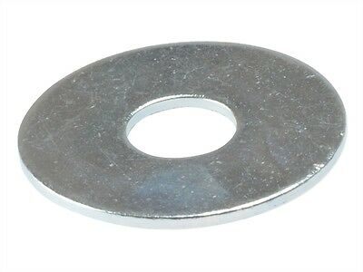M6 (6mm) x 20mm BZP PENNY MUDGUARD REPAIR WASHER - Pack of 10 Washers