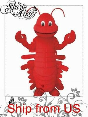 Red Lobster Adult Mascot Costume
