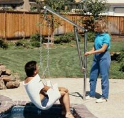 Lifeguard Lift Handicap Manual Lift  20A  for Swimming Pool and Spa Access