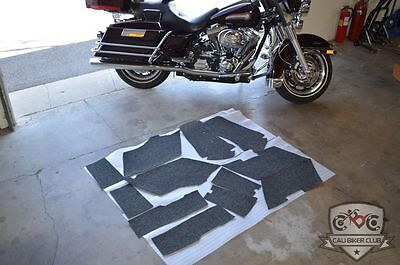 Gray Carpet Liner FOR HD Harley-Davidson SADDLEBAGS Ultra-Classic FLHT FLHTCU