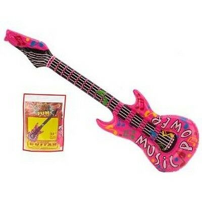 Inflatable Pink Guitar
