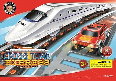 BILLY V Cross Town Express & Highway Vehicle (141 Pieces)