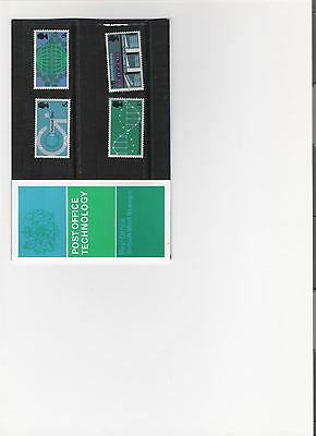 1969 Royal Mail Pres Pack British Post Office Technology Mint Pre Decimal Stamps