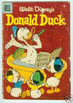 Donald Duck # 45 (Carl Barks story) (USA, 1956)
