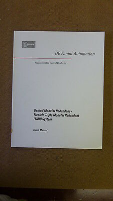GE Fanuc GFK-1277A Genius Modular Redundancy Flexible TMR System Manual (7042)