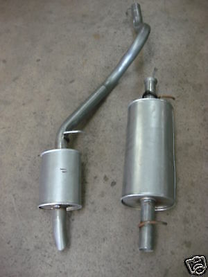 Land Rover Discovery 2.5 Tdi 300 Centre & Rear Exhaust Brand New