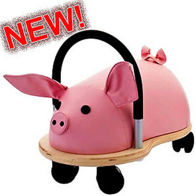 *NEW* ORIGINAL LARGE WHEELY BUG PIG Toddler Ride-On Toy