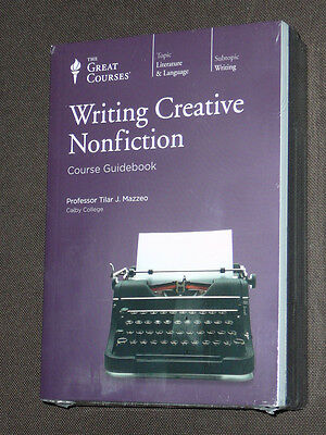 Teaching Co Great Courses DVDs       WRITING CREATIVE NONFICTION    new & sealed