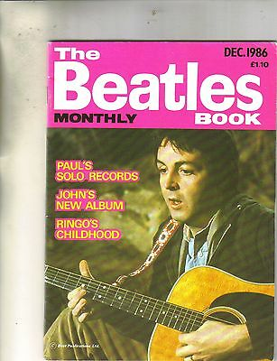 Beatles Monthly Book December 1986 from the UK