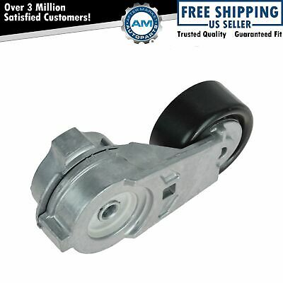 Serpentine Belt Tensioner with Pulley for Buick Chevy GMC Hummer Isuzu Saab