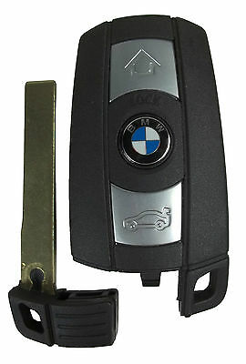 OEM BMW Uncut Blade Remote Smart Key Keyless Entry Prox KR55WK49127 3 5 Series